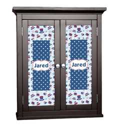 Patriotic Celebration Cabinet Decal - XLarge (Personalized)
