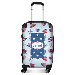 Patriotic Celebration Suitcase (Personalized)