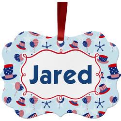 Patriotic Celebration Ornament (Personalized)