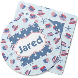 Patriotic Celebration Rubber Backed Coaster (Personalized)