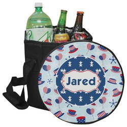 Patriotic Celebration Collapsible Cooler & Seat (Personalized)