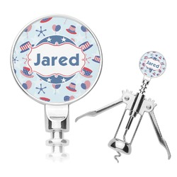 Patriotic Celebration Corkscrew (Personalized)