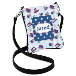 Patriotic Celebration Cross Body Bag - 2 Sizes (Personalized)
