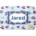 Patriotic Celebration Dish Drying Mat (Personalized)