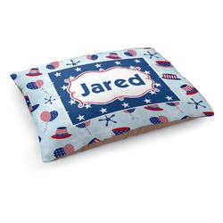 Patriotic Celebration Dog Bed (Personalized)