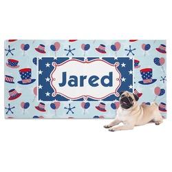 Patriotic Celebration Pet Towel (Personalized)