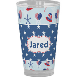Patriotic Celebration Drinking / Pint Glass (Personalized)