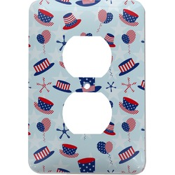Patriotic Celebration Electric Outlet Plate (Personalized)