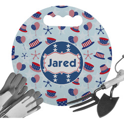 Patriotic Celebration Gardening Knee Cushion (Personalized)