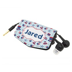 Patriotic Celebration Genuine Leather Cord Wrap (Personalized)