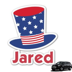 Patriotic Celebration Graphic Car Decal (Personalized)