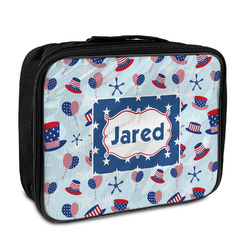 Patriotic Celebration Insulated Lunch Bag (Personalized)