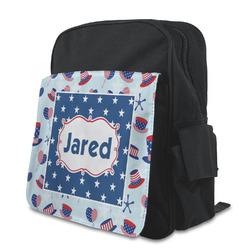 Patriotic Celebration Preschool Backpack (Personalized)