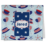 Patriotic Celebration Kitchen Towel - Full Print (Personalized)