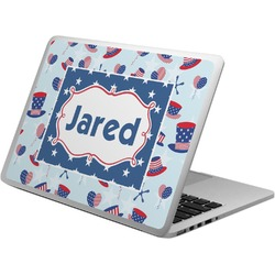 Patriotic Celebration Laptop Skin - Custom Sized (Personalized)