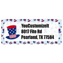 Patriotic Celebration Return Address Label (Personalized)