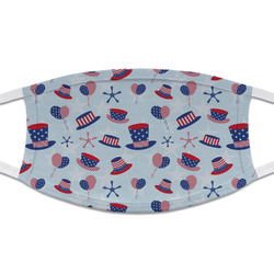 Patriotic Celebration Cloth Face Mask (T-Shirt Fabric) (Personalized)