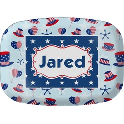 Patriotic Celebration Melamine Platter (Personalized)