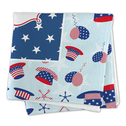 Patriotic Celebration Large Microfiber Dish Rag (Personalized)