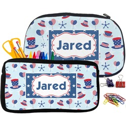 Patriotic Celebration Pencil / School Supplies Bag (Personalized)
