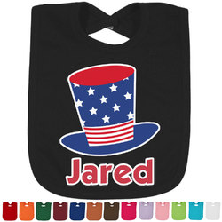 Patriotic Celebration Bib - Select Color (Personalized)