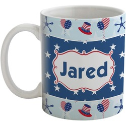 Patriotic Celebration Coffee Mug (Personalized)