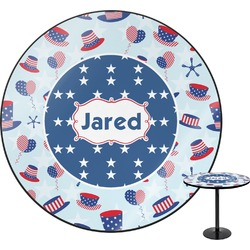 Patriotic Celebration Round Table (Personalized)