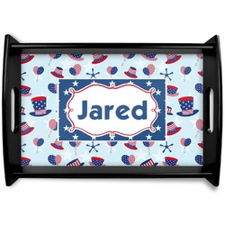 Patriotic Celebration Wooden Trays (Personalized)