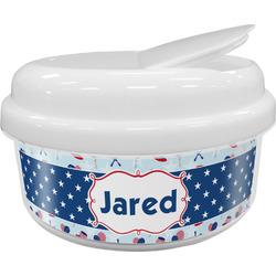 Patriotic Celebration Snack Container (Personalized)