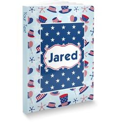 Patriotic Celebration Softbound Notebook (Personalized)