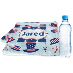 Patriotic Celebration Sports & Fitness Towel (Personalized)