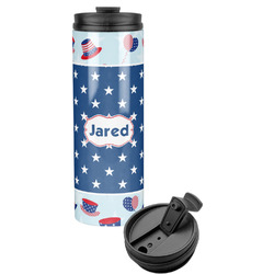 Patriotic Celebration Stainless Steel Tumbler (Personalized)