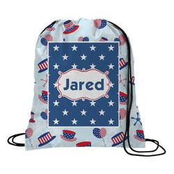 Patriotic Celebration Drawstring Backpack (Personalized)