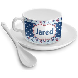 Patriotic Celebration Tea Cup - Single (Personalized)
