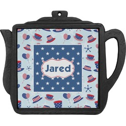 Patriotic Celebration Teapot Trivet (Personalized)