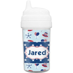 Patriotic Celebration Toddler Sippy Cup (Personalized)