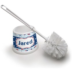 Patriotic Celebration Toilet Brush (Personalized)