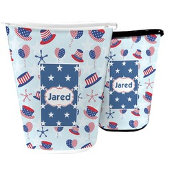 Patriotic Celebration Waste Basket (Personalized)