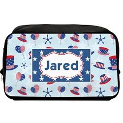 Patriotic Celebration Toiletry Bag / Dopp Kit (Personalized)