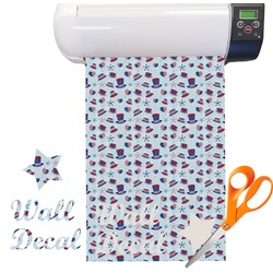 Patriotic Celebration Vinyl Sheet (Re-position-able)