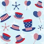 Patriotic Celebration Wallpaper & Surface Covering