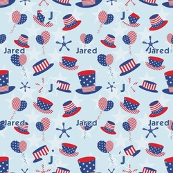 Patriotic Celebration Wrapping Paper (Personalized)