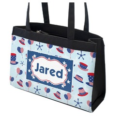Patriotic Celebration Zippered Everyday Tote (Personalized)