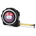 Patriotic Fleur de Lis Tape Measure - 16 Ft (Personalized)