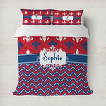 Patriotic Fleur de Lis Duvet Covers (Personalized)