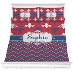 Patriotic Fleur de Lis Comforters (Personalized)