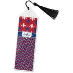Patriotic Fleur de Lis Book Mark w/Tassel (Personalized)