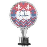 Patriotic Fleur de Lis Wine Bottle Stopper (Personalized)