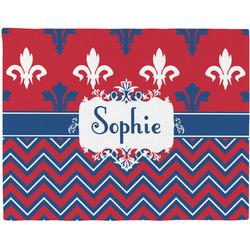 Patriotic Fleur de Lis Placemat (Fabric) (Personalized)