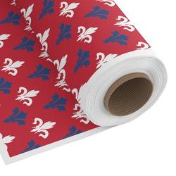 Patriotic Fleur de Lis Custom Fabric by the Yard (Personalized)